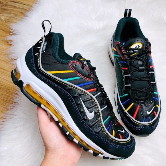 Nike Air Max 97 Triple Black Nike bq4567 001 black